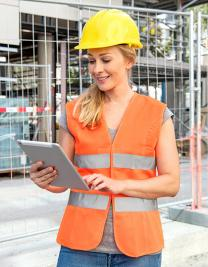 Women´s Safety Vest EN ISO 20471